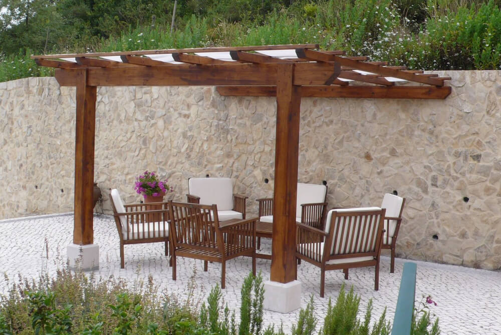 pergola furniture ideas 18