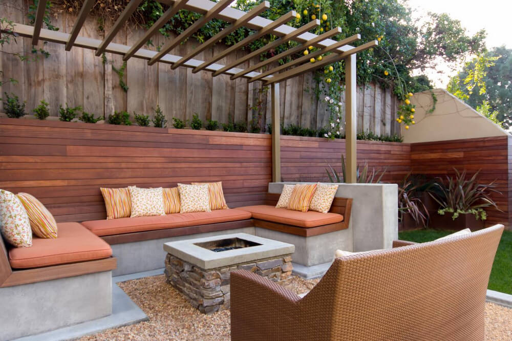 pergola furniture ideas 2
