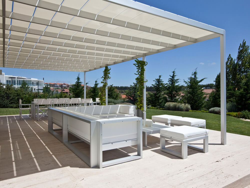 pergola furniture ideas 20