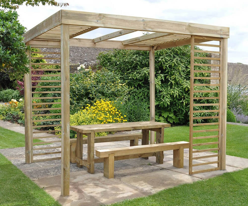 pergola furniture ideas 3