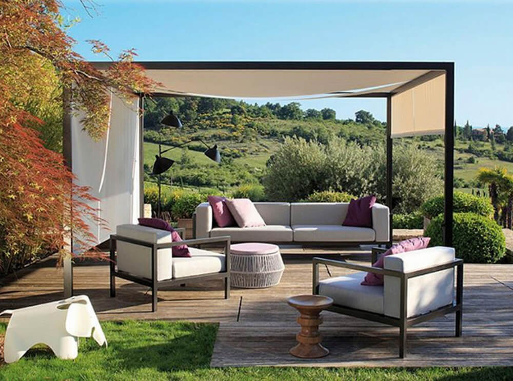 pergola furniture ideas 6