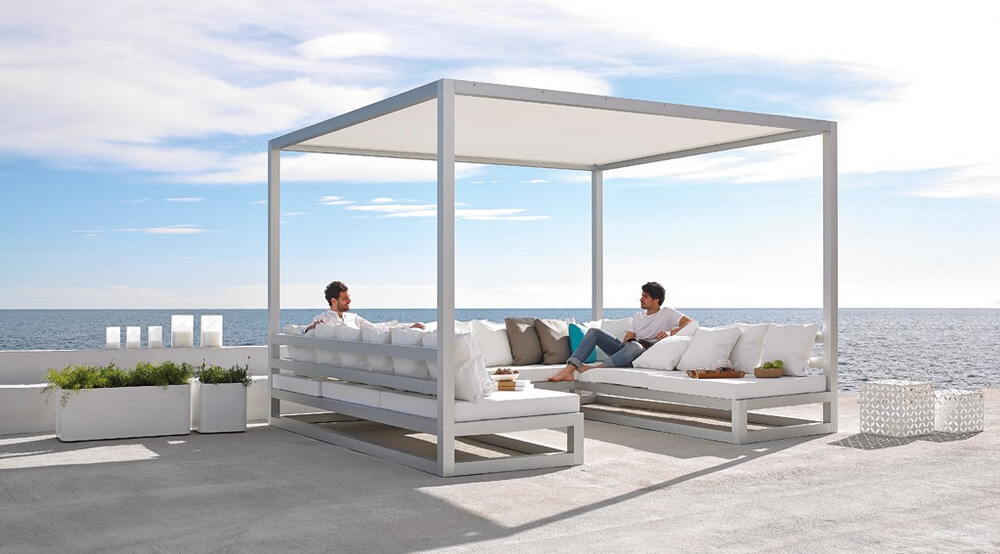 pergola furniture ideas 7
