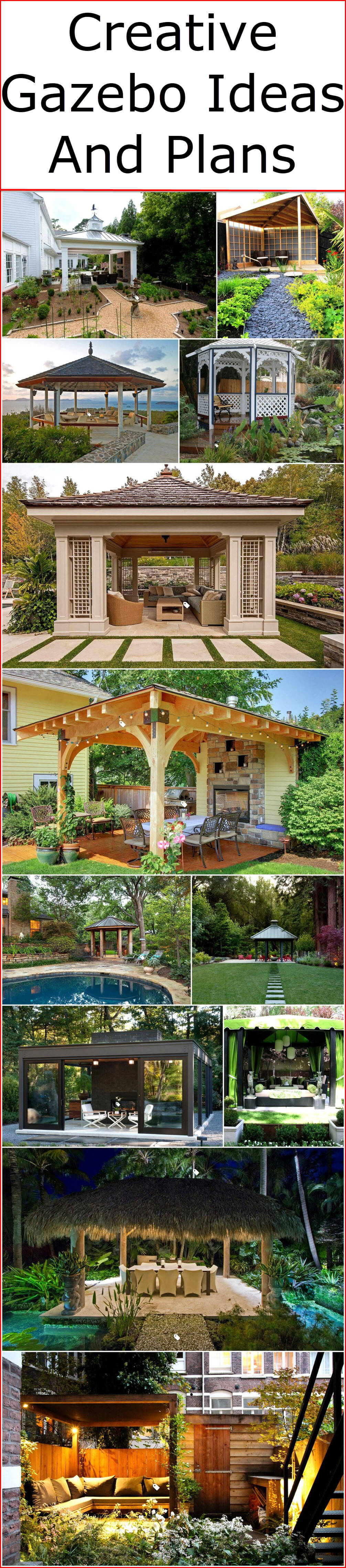 Creative Gazebo Ideas And Plans