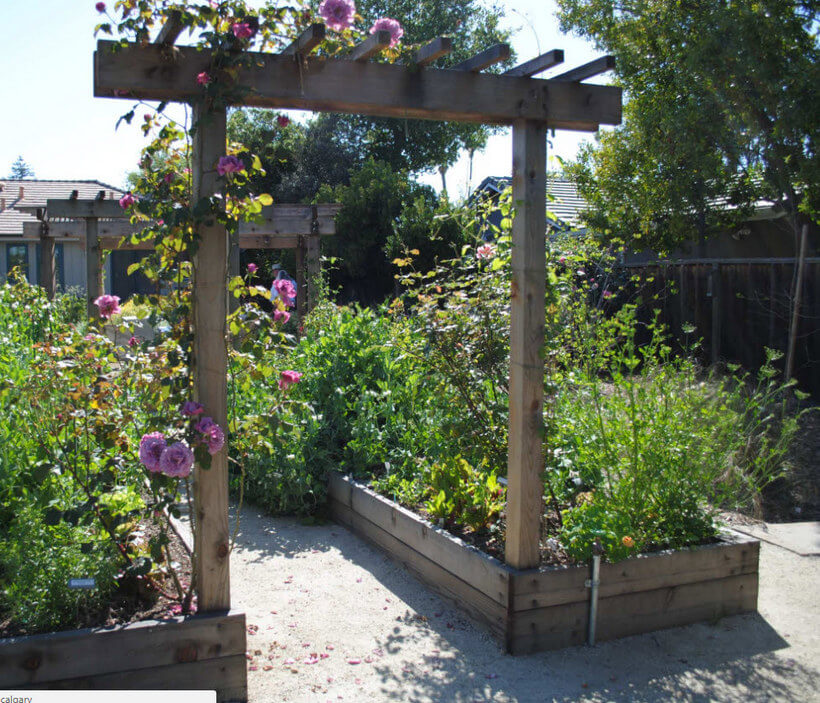 Garden Arbor Ideas 12