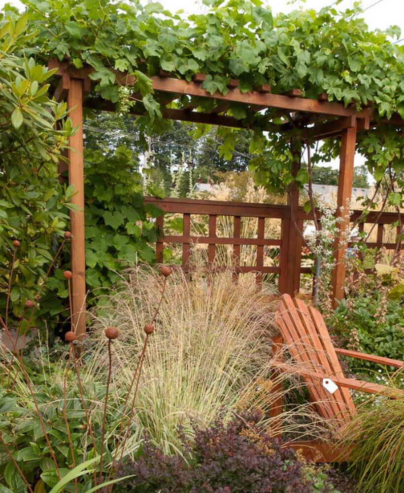 Wooden garden arbor designing ideas pergola gazebos for Wooden garden arbor designs