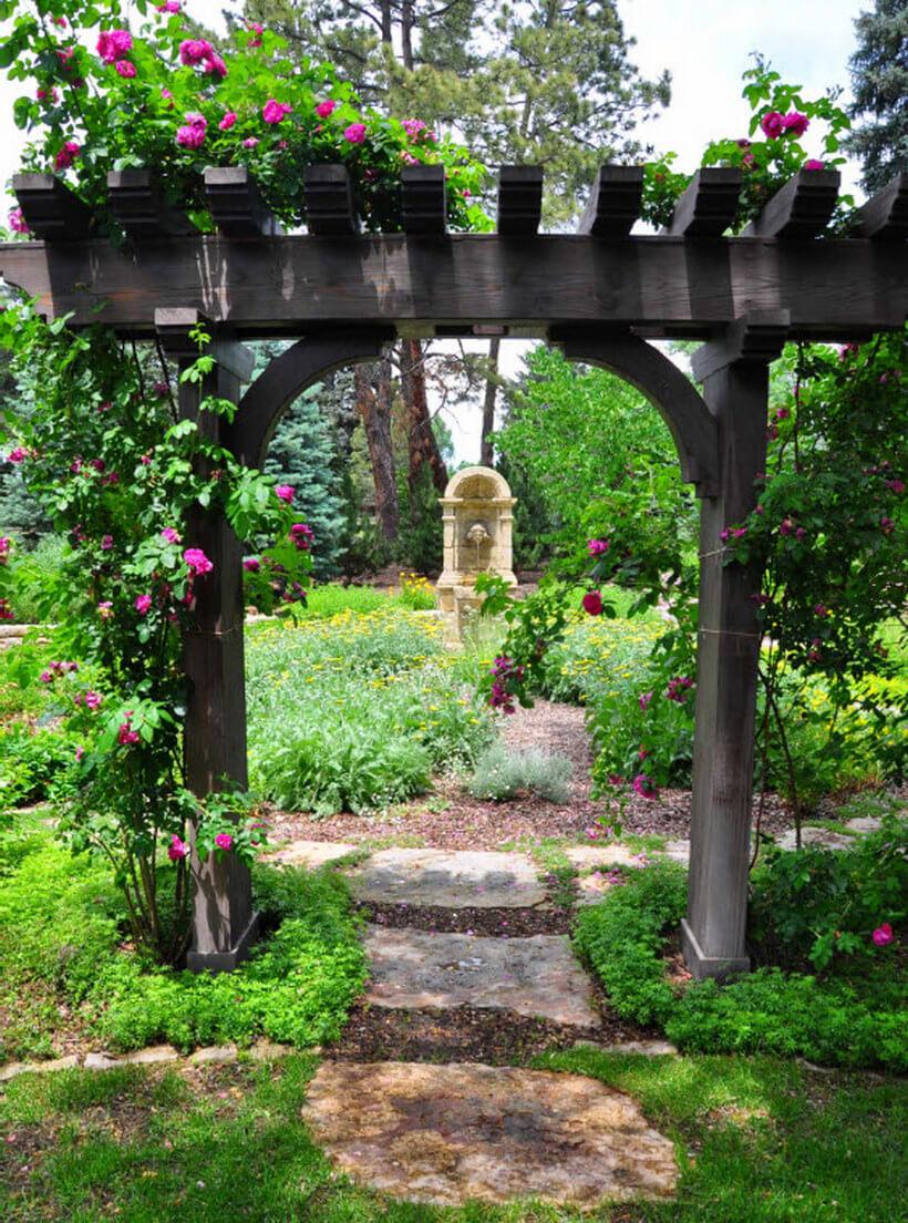 Garden Arbor Ideas 6
