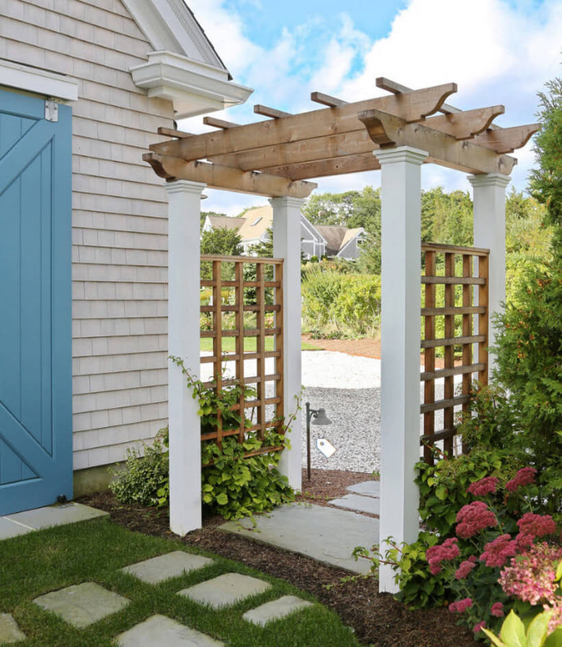 Wooden garden arbor designing ideas pergola gazebos for Garden arbor designs