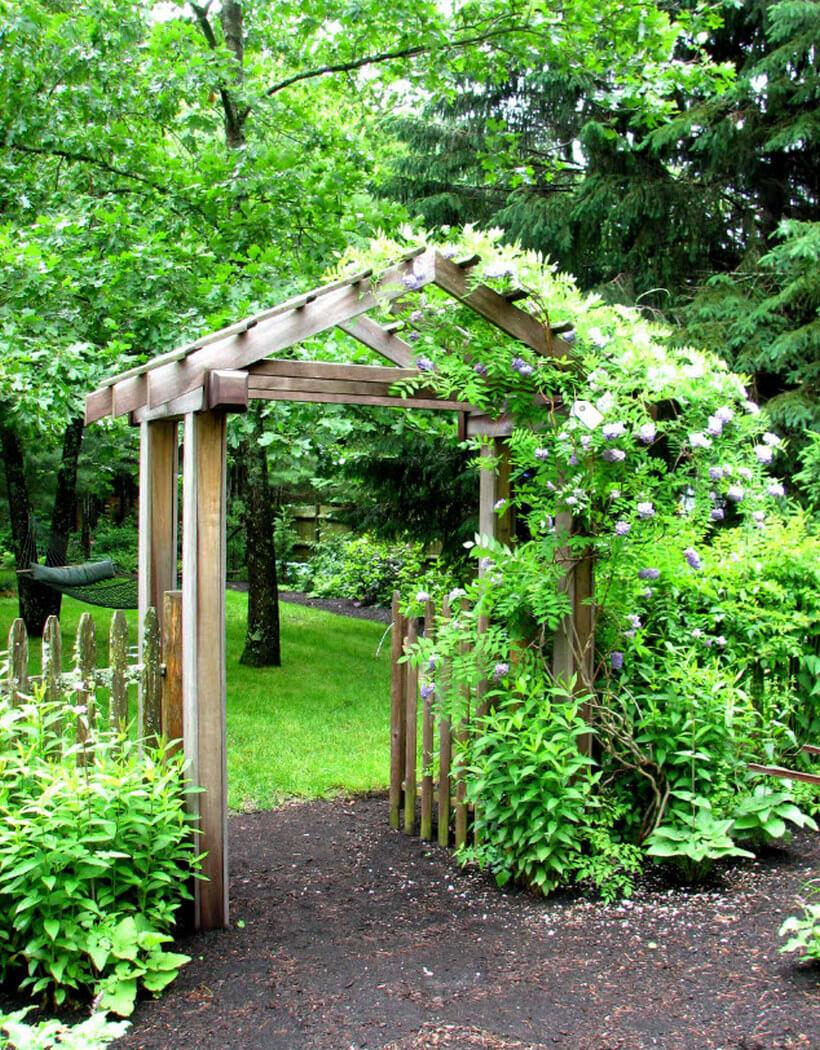 Wooden Garden Arbor Designing Ideas | Pergola Gazebos
