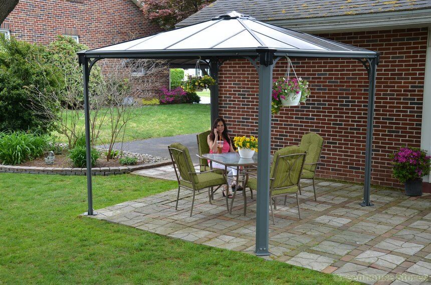 Gazebo Designed in Garden 2