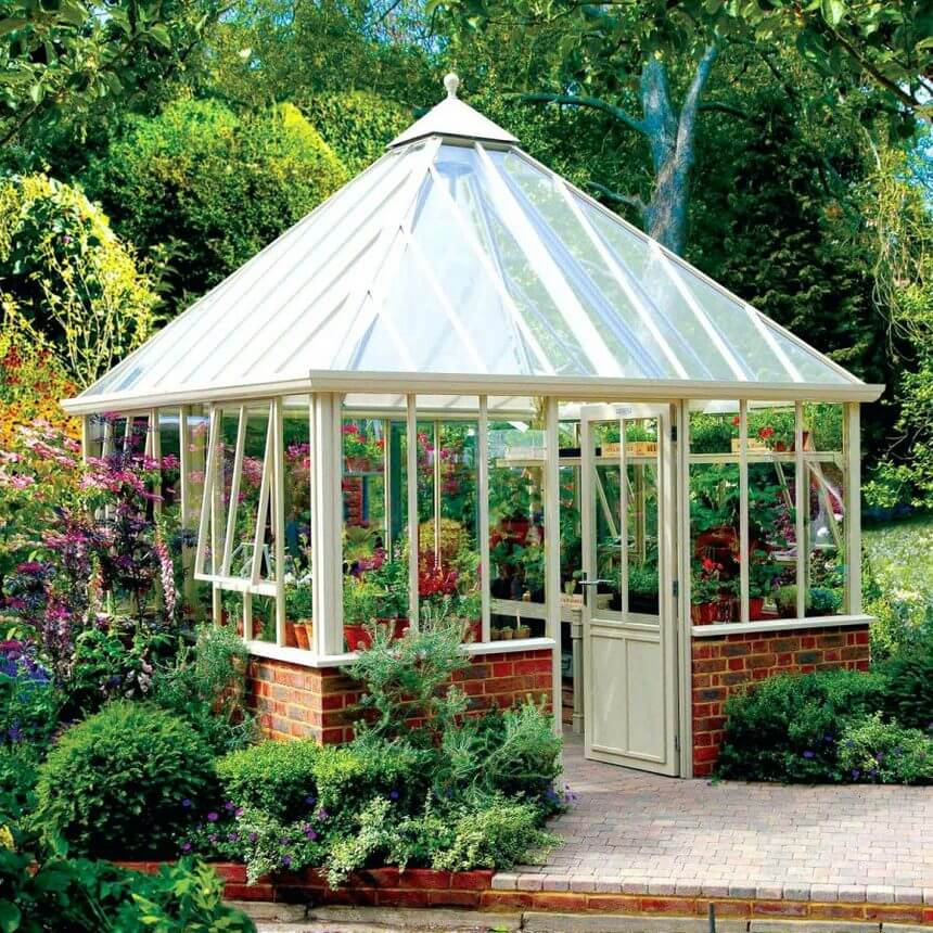 Gazebo Designed in Garden 6