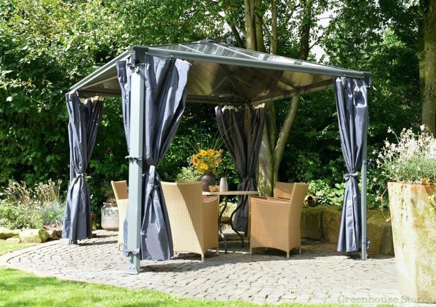 Gazebo Designed in Garden 7