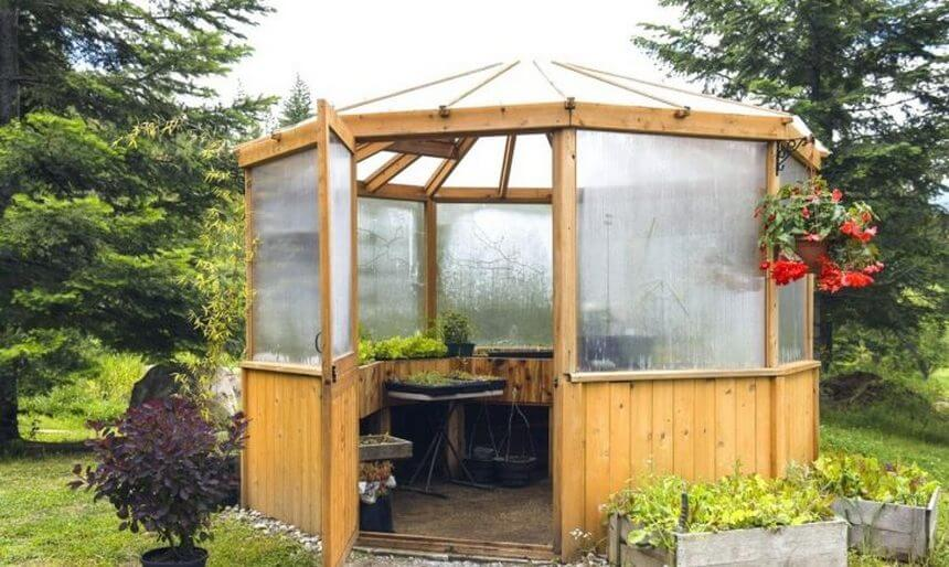 Gazebo Designed in Garden 8