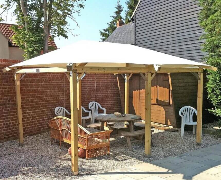Gazebo Designed in Garden 9
