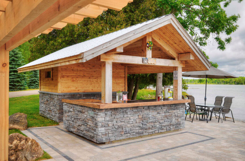 Lakeside Gazebo Design Ideas 13