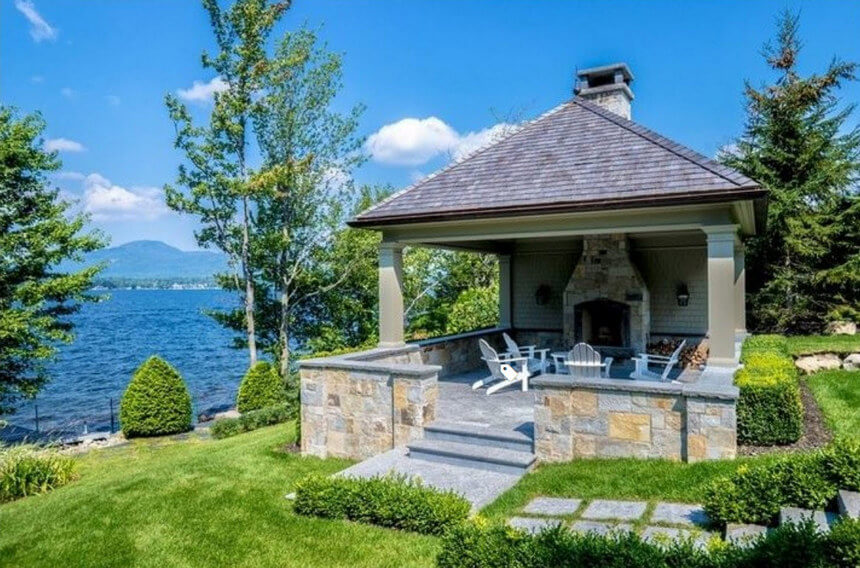 Lakeside Gazebo Design Ideas 16