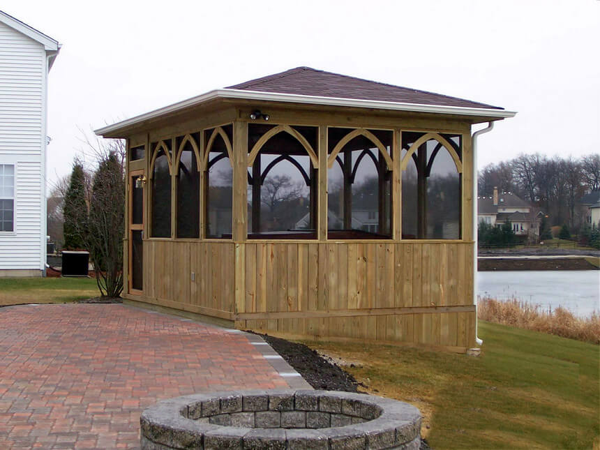 Lakeside Gazebo Design Ideas 2