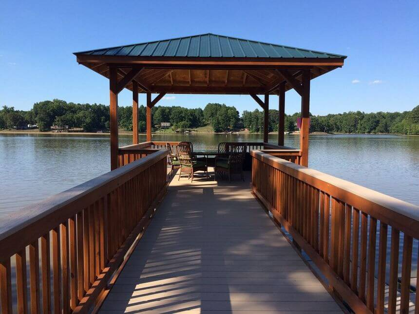 Lakeside Gazebo Design Ideas 3