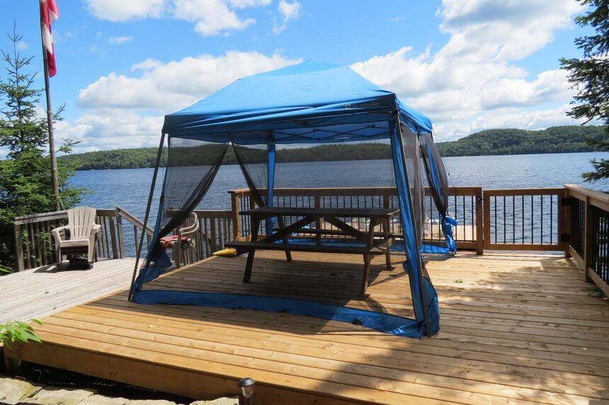 Lakeside Gazebo Design Ideas 8