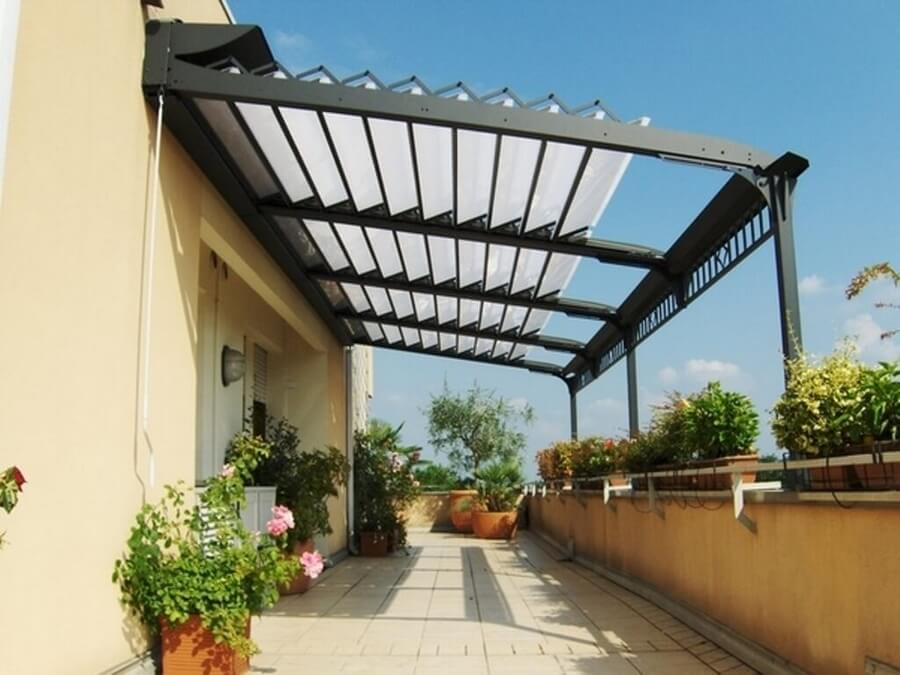 Pergola Attached To House 10
