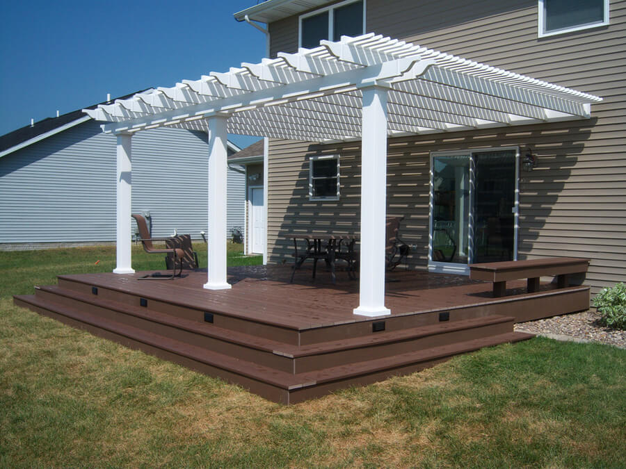 Pergola Attached To House 3