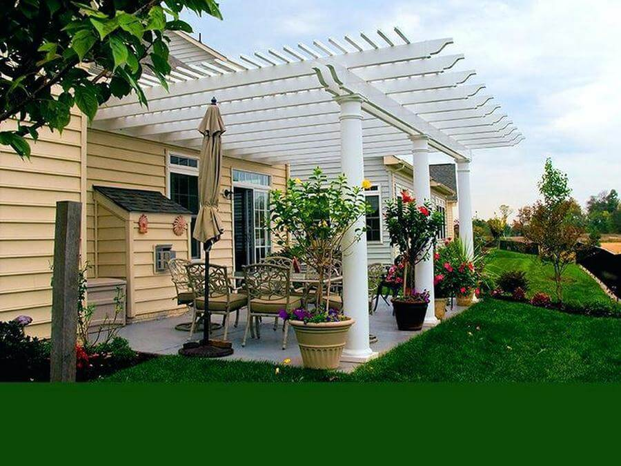 Pergola Attached To House 4