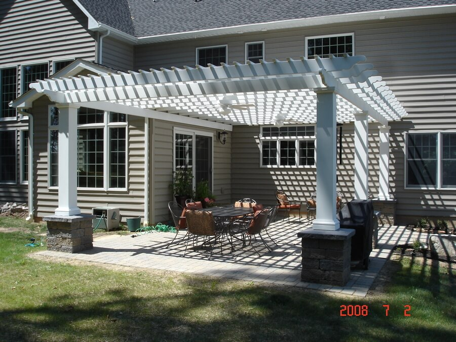 Pergola Attached To House 6