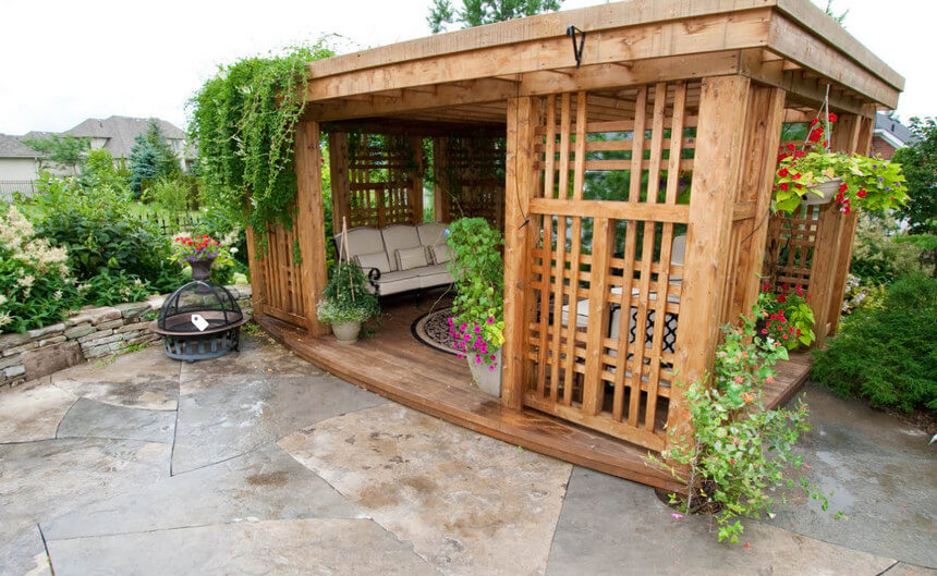 outdoor gazebo ideas 11