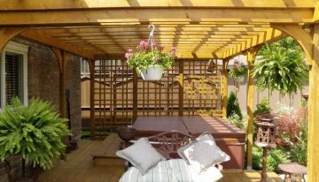 Elegant Pergola Designs For Patios