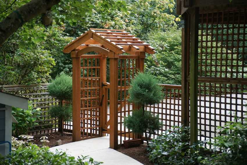 eye catching design ideas for patio arbors pergola gazebos - Arbor Design Ideas