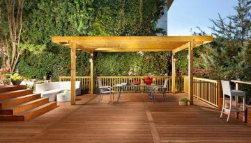 30 Eye Catching Design Ideas for Pergola Decks