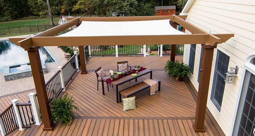 pergola deck ideas 12