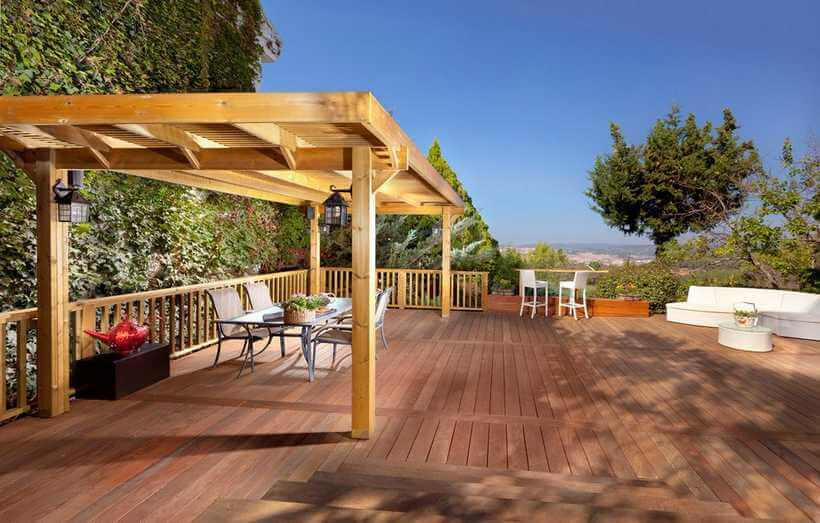 pergola deck ideas 15