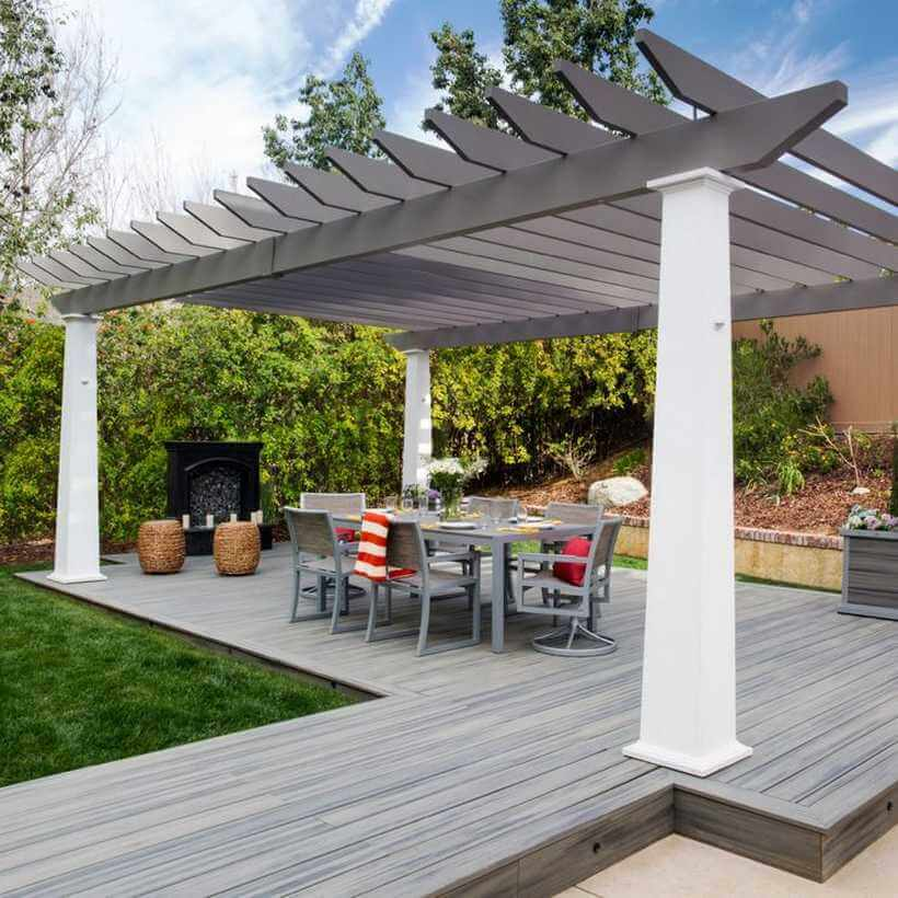 pergola deck ideas 23