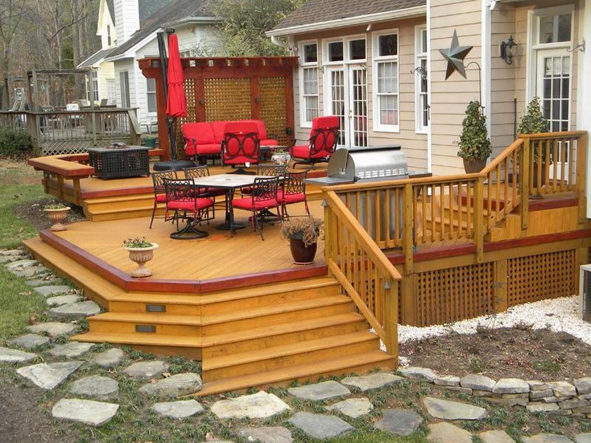 beautiful deck designs 0 - 2