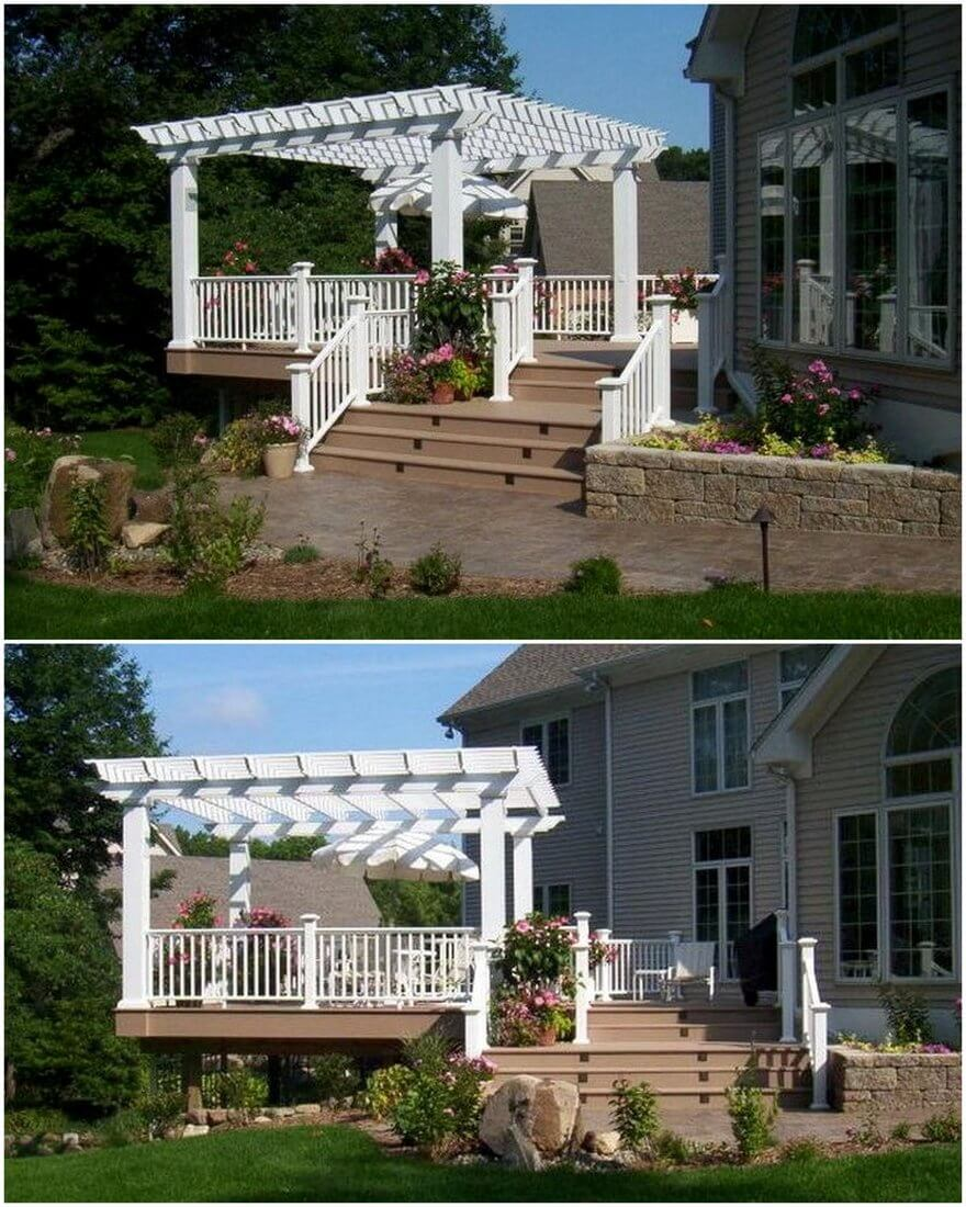 patio pergola deck designs 16