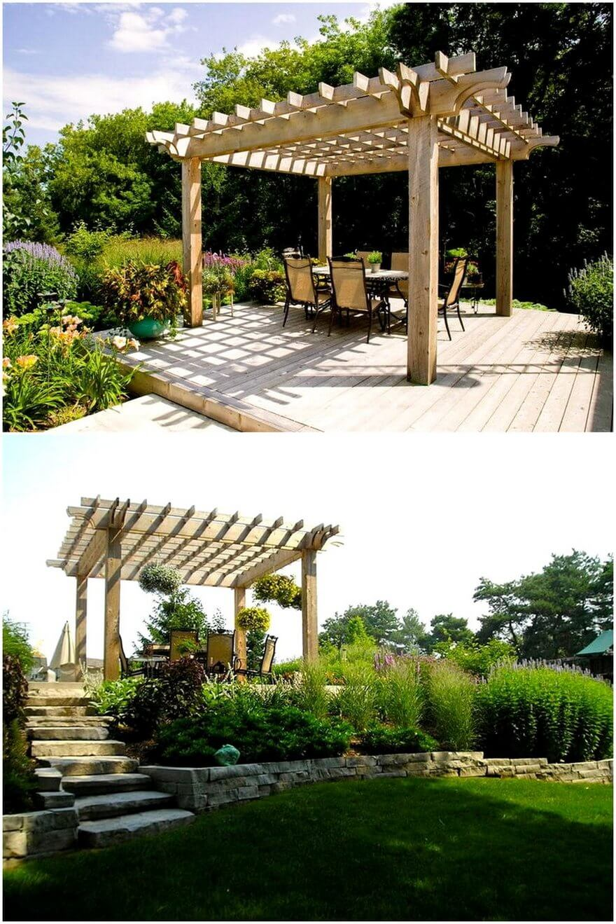 patio pergola deck designs 17