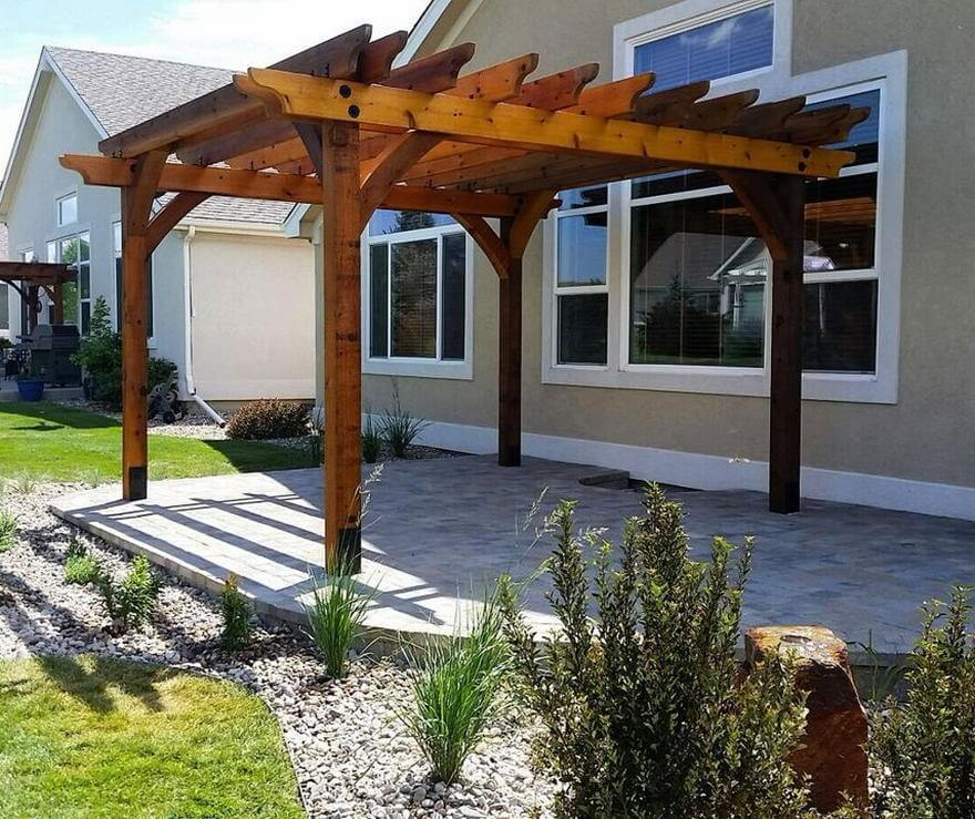 patio pergola deck designs 25
