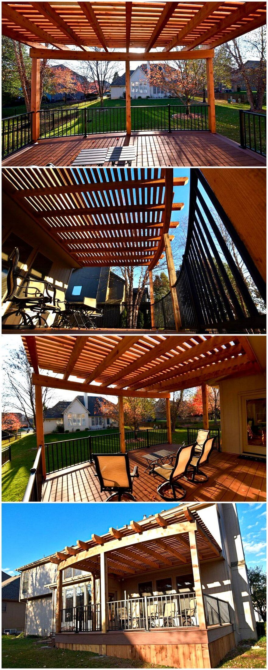 patio pergola deck designs 6 - 2