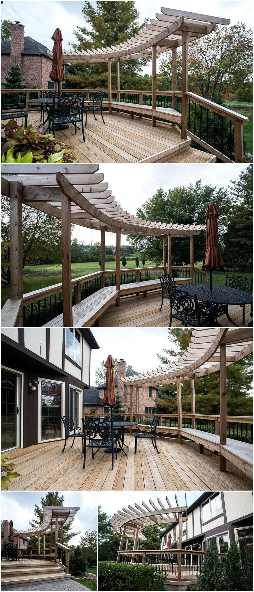 patio pergola deck designs 7