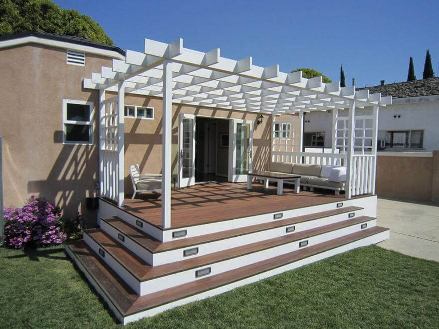 patio pergola deck designs 8