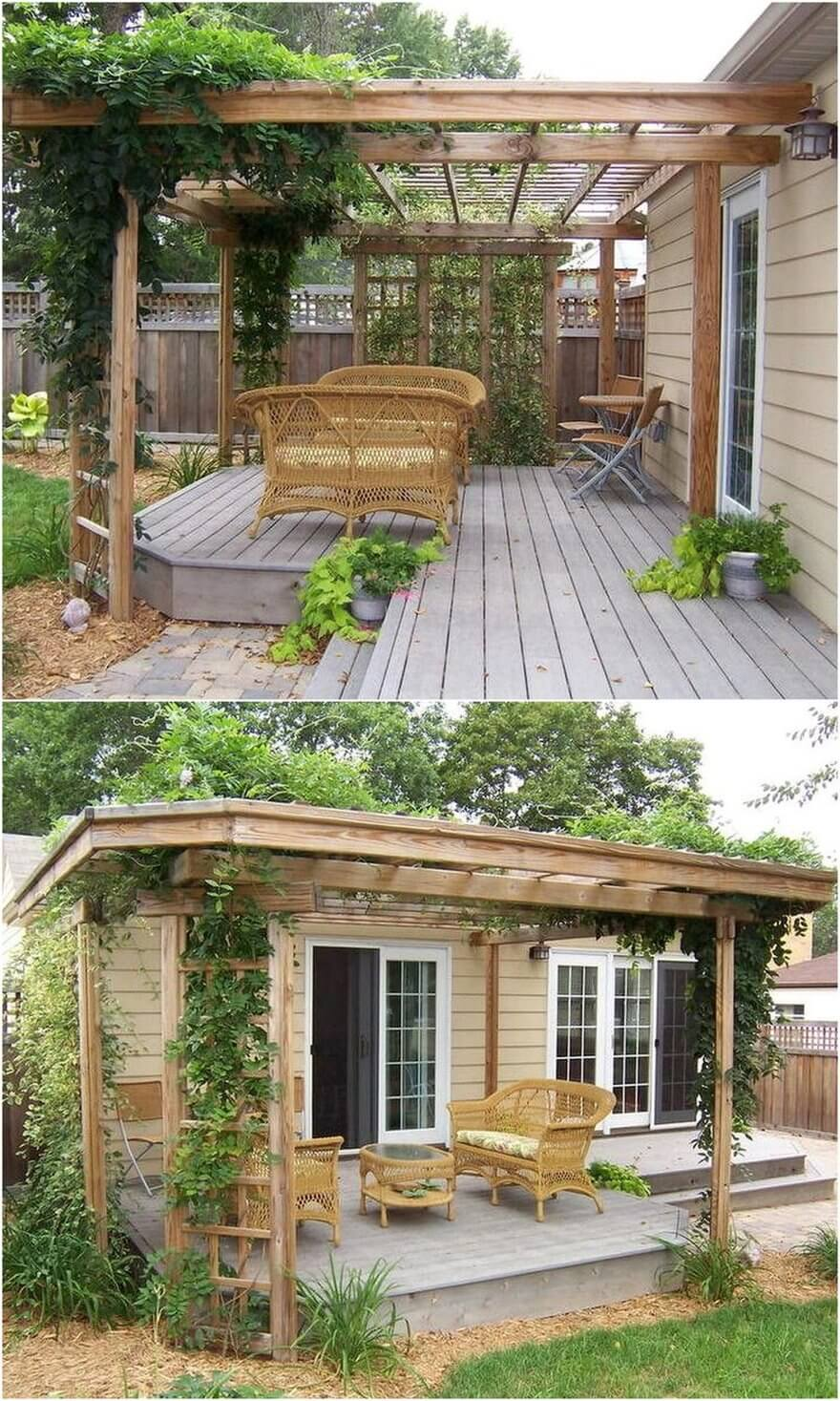 patio pergola deck designs 9