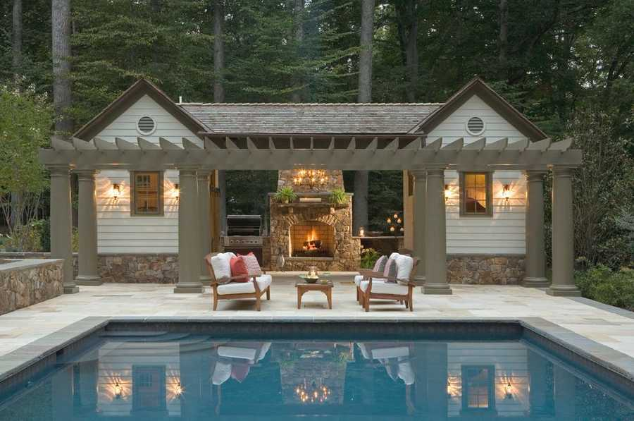 pool pergola design idea 12