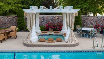 Stunning Design Ideas for Pool Pergolas