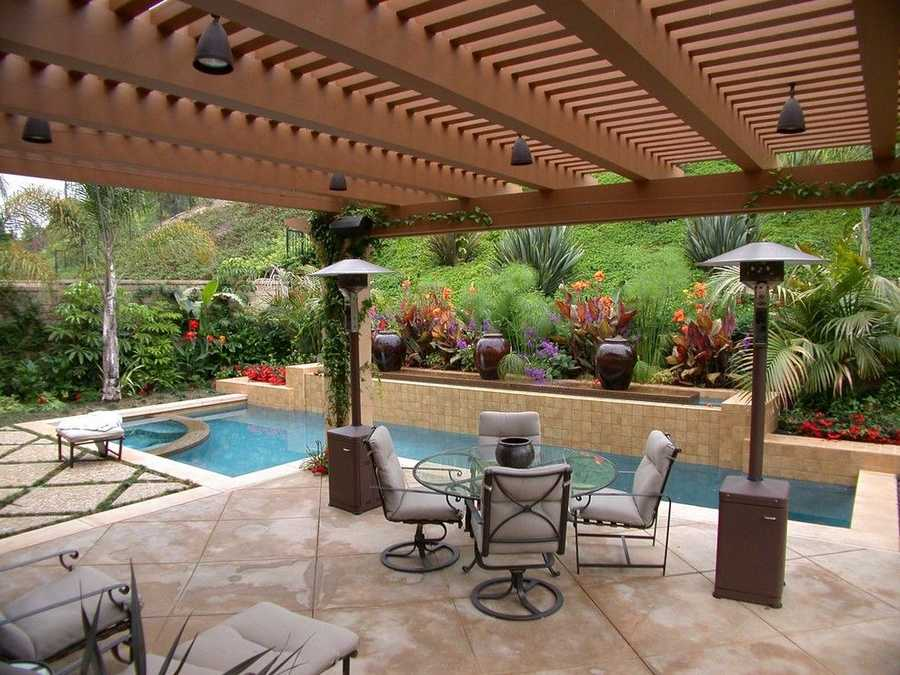 pool pergola design idea 17