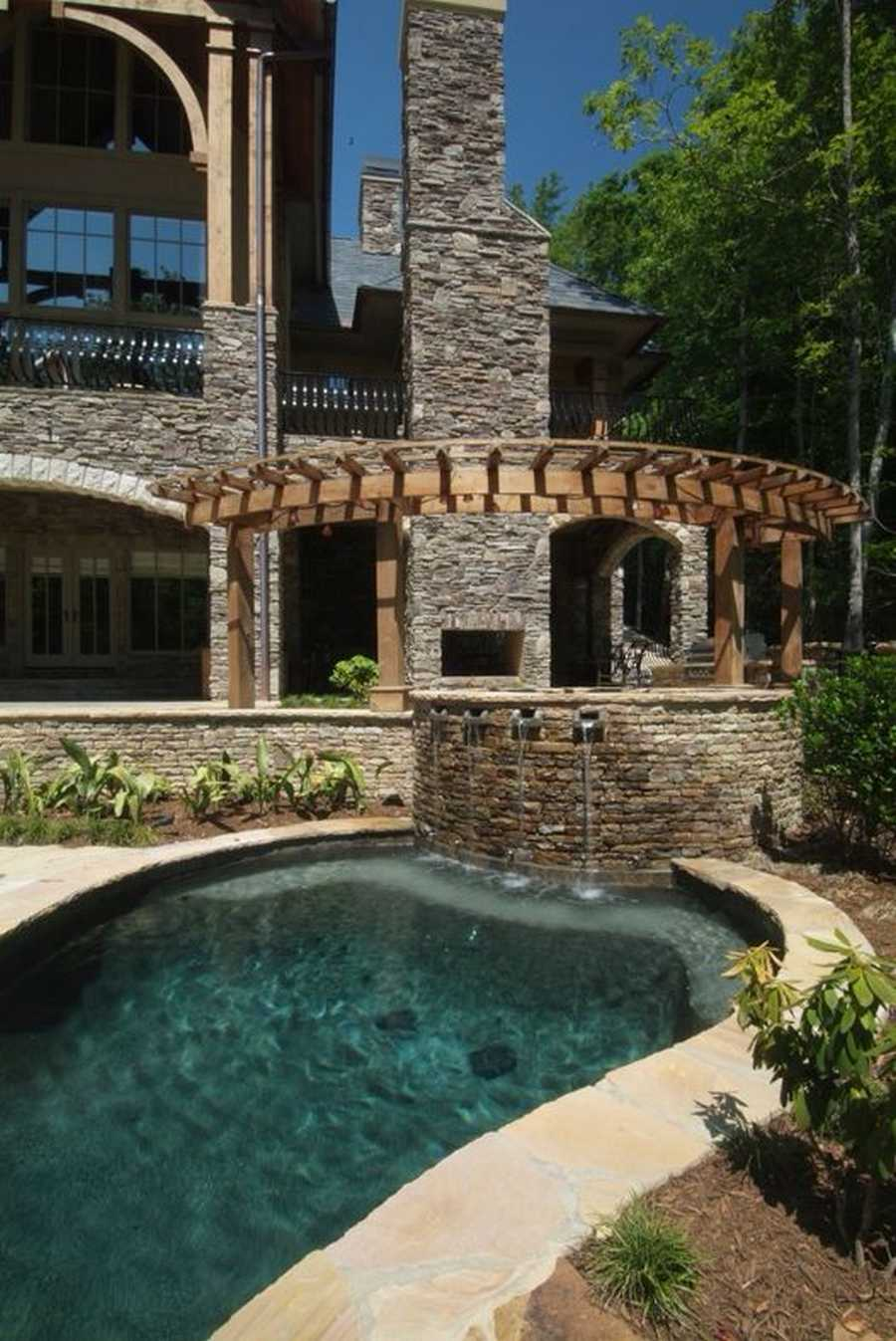 pool pergola design idea 19