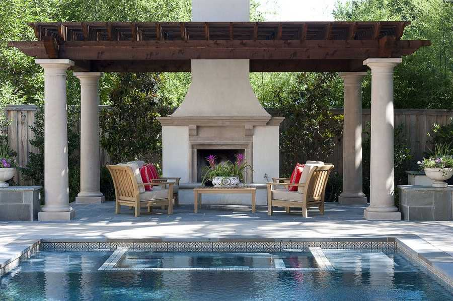 pool pergola design idea 33