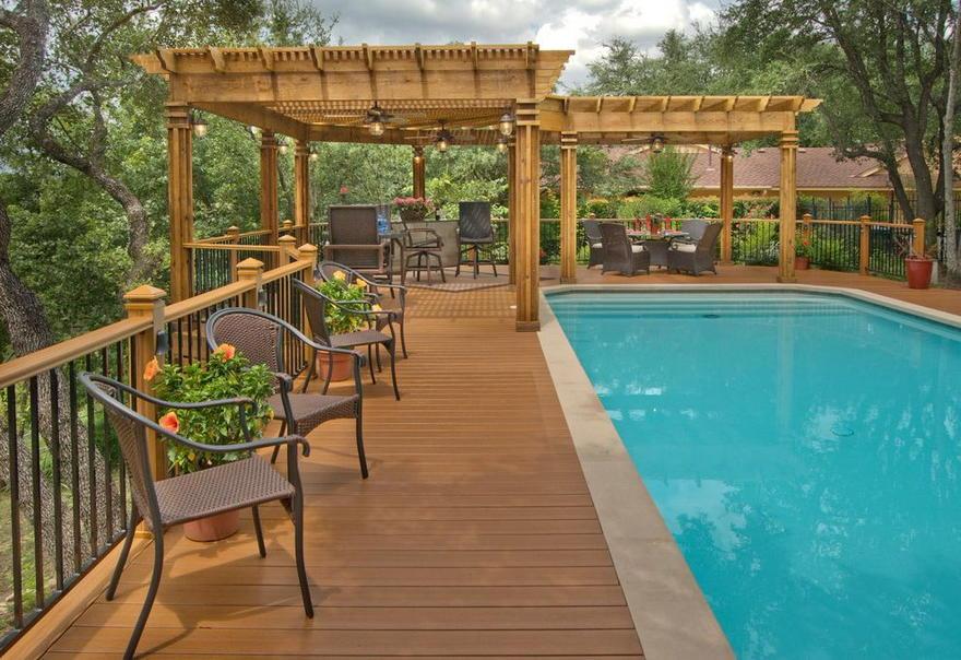 pool pergola designs 4 - 2