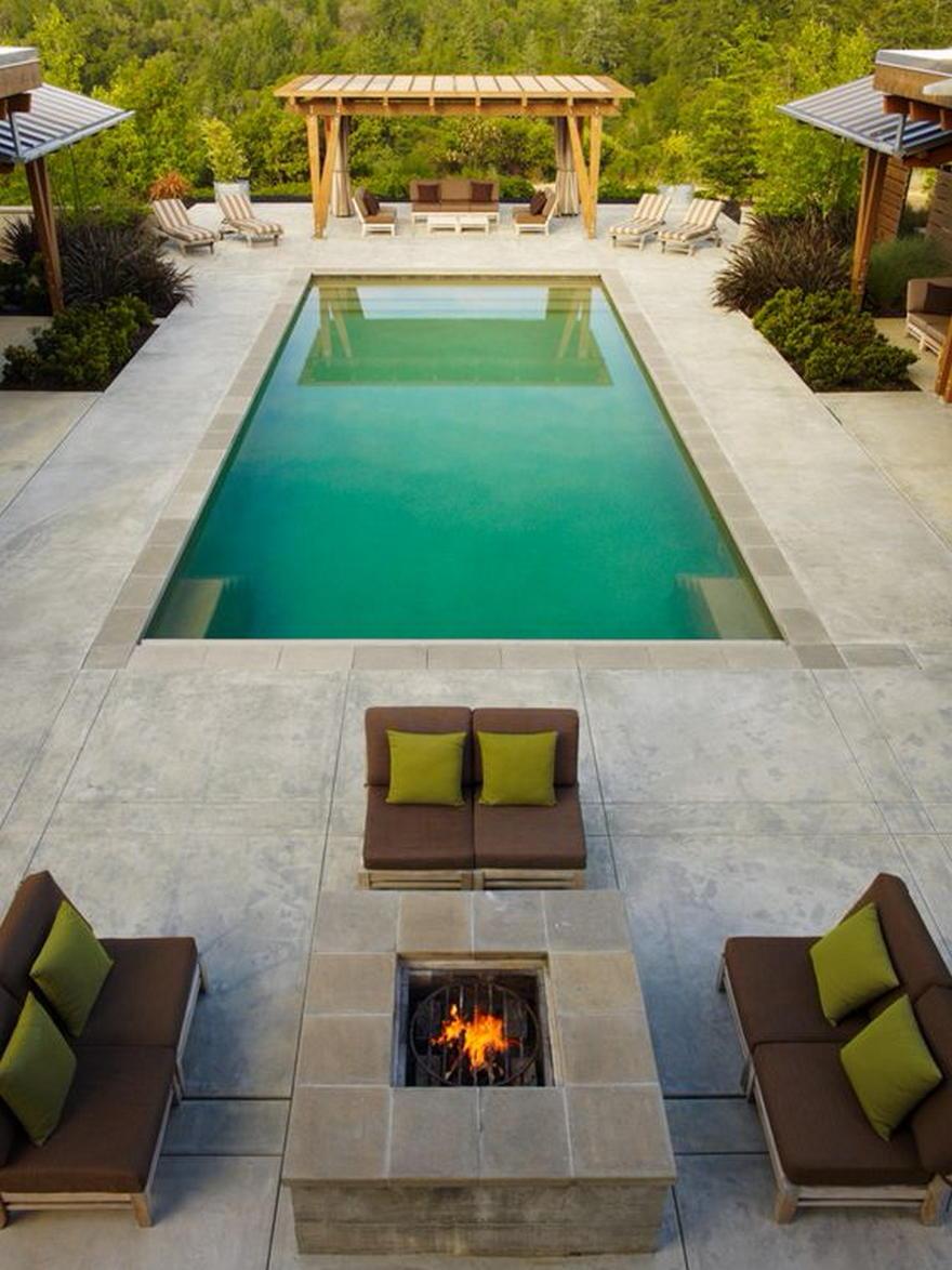 pool pergola designs 5 - 2