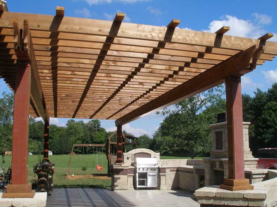 unique pergola designs 12