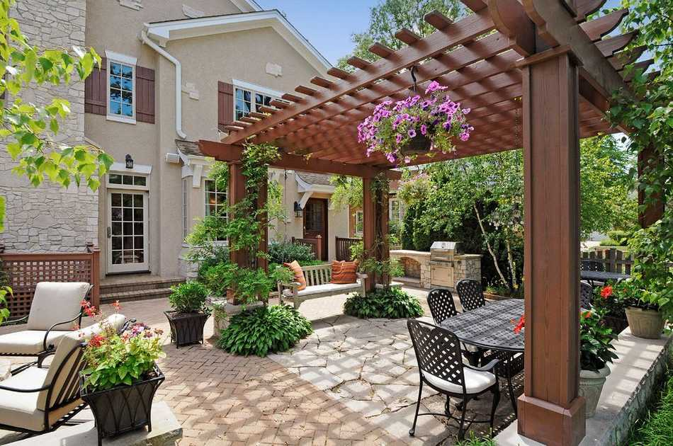 unique pergola designs 16